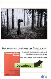 Ingo Diedrich-Kampf-um-den-Limes-Kontrolltheorie-Desintegrationsansatz