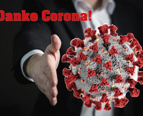 Corona, Danke
